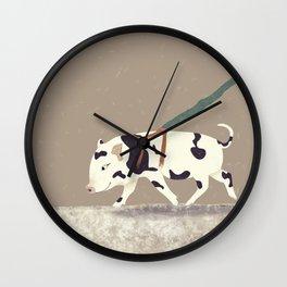 Baby Pig Original Design Wall Clock
