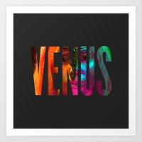 venus Art Prints featuring Venus by Greg21