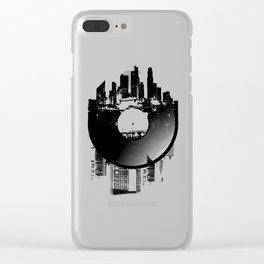 Urban Vinyl of Underground Music Clear iPhone Case