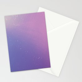 Faded Vintage Pink and Purple Ombre Galaxy Stationery Cards