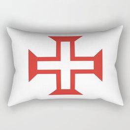 Cross of the Order of Christ (Cruz da Ordem de Cristo) Rectangular Pillow