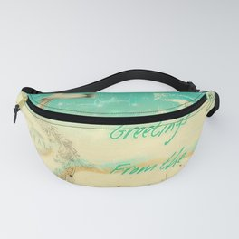 Greetings from the Shore Fanny Pack