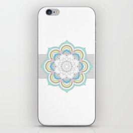 Pastel Mandala iPhone Skin