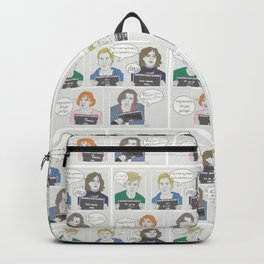 The Breakfast Club Quotes Backpack