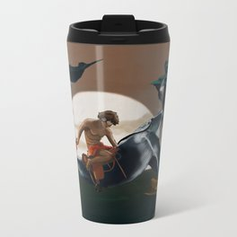 Beyond the Horizon  Metal Travel Mug