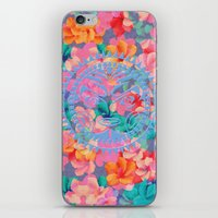 hawaii iPhone & iPod Skins featuring Hawaii by Marta Olga Klara