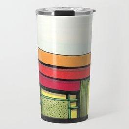 Cactus Pagoda Architectural Design 53 Travel Mug