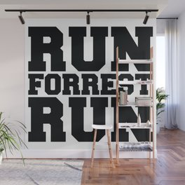 Run Forrest Run Wall Mural