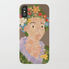 Flora by  Giuseppe Arcimboldo iPhone X Slim Case