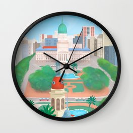 Buenos Aires city, Argentina Wall Clock