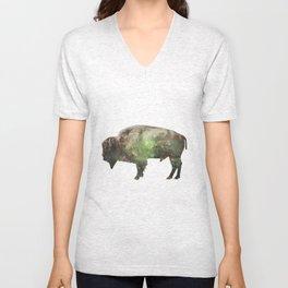 Surreal Buffalo Unisex V-Neck