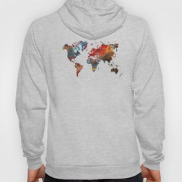World Map 2020 Hoody