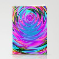 60s Stationery Cards featuring Psychedelic 60s by Alice Gosling