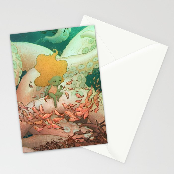 Listen To Me And I'll Tell You A Story Stationery Cards