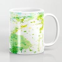 atlas Mugs featuring atlas by agnes Trachet
