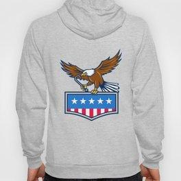 American Eagle Towing J Hook USA Flag Retro Hoody
