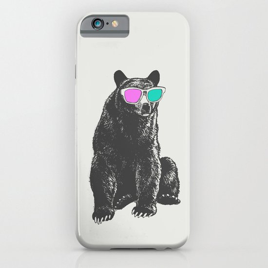3D is Un-bear-able  iPhone & iPod Case