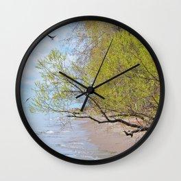 Land Sea and Sky Wall Clock