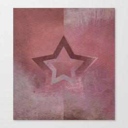 Suprematist Star VI Canvas Print