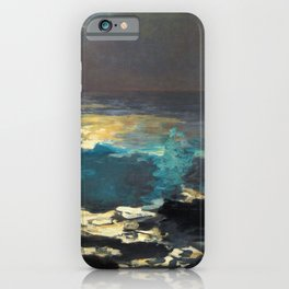Winslow Homer1 - Sunlight On The Coast - Digital Remastered Edition iPhone Case