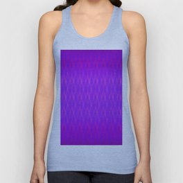 Argyle Violet Shimmer Unisex Tank Top