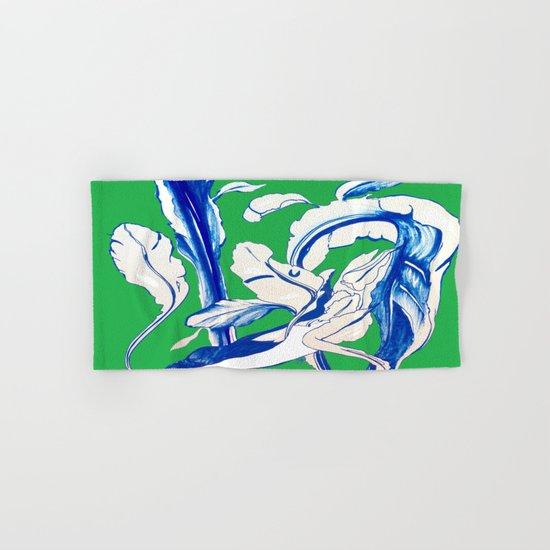Saint Patrick's Day Succulent Hand & Bath Towel