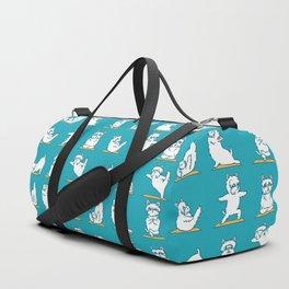 West Highland Terrier Yoga Duffle Bag