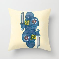 Space Marine - Warhammer 40k Throw Pillow
