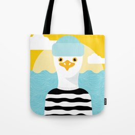 Jason Seagull Tote Bag