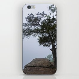 Heritage Point Overlook in the Fog iPhone Skin