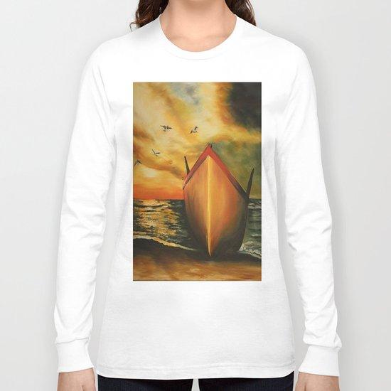 offset the coast Long Sleeve T-shirt
