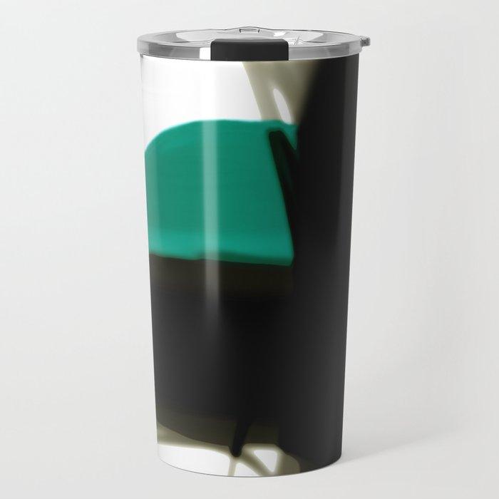 Drifting Away Two abstract art by Ann Powell Travel Mug