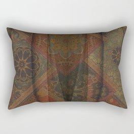 Rich Autumn Boho Rectangular Pillow