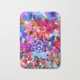 Jelly Bean Wildflowers Bath Mat