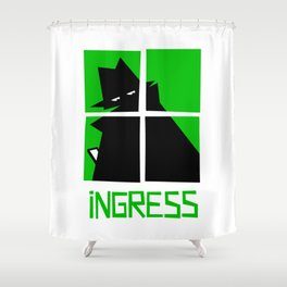 Ingress (Enlightenment) Shower Curtain