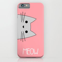 Meow iPhone Case