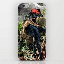 The world of dinosaurs iPhone Skin