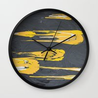 transformers Wall Clocks featuring Transformers by Maddy Knuth