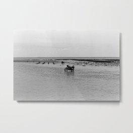 Black & White Film #3 Metal Print