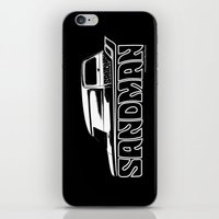 sandman iPhone & iPod Skins featuring Holden Sandman Panel Van by Blulime