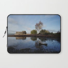 Cold Clear Morning At Chasewater Laptop Sleeve