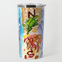 The Four Directions and Four Elements Travel Mug
