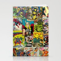 comic book Stationery Cards featuring COMIC by Vickn