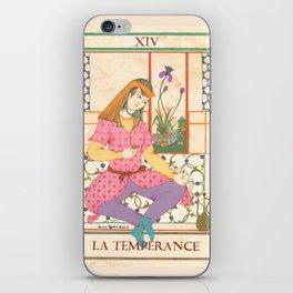 Tarot Card-The Temperance iPhone Skin
