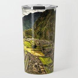 Machu Picchu Hi-Res HDR landscape Peru Travel Mug
