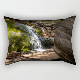 Sequoia Waterfall Rectangular Pillow