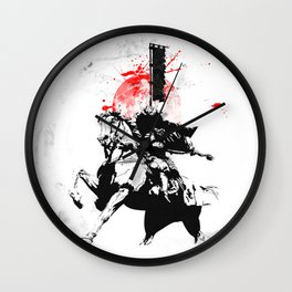 Samurai Japan Wall Clock