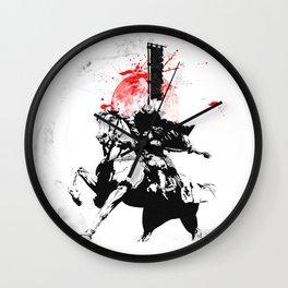 Samurai Japan Wall Clock