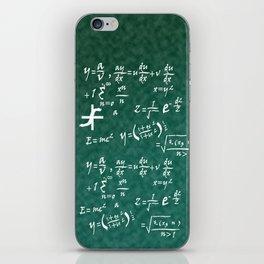 Math Equations iPhone Skin