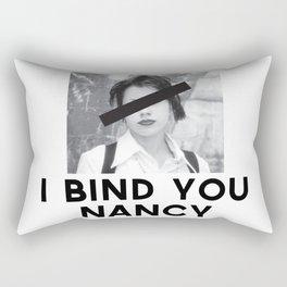 I Bind You Rectangular Pillow